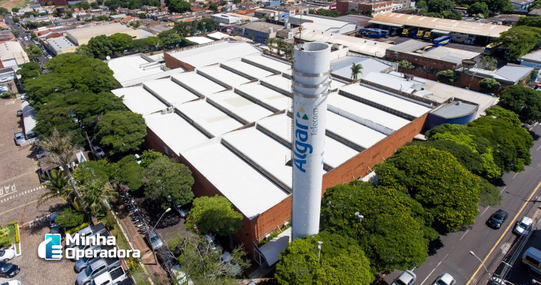 Algar Telecom completa 67 anos.
