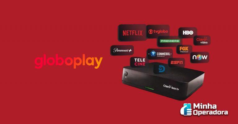 Claro box tv ganha aplicativo do Globoplay