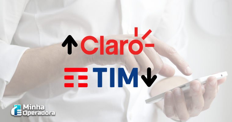 Claro é líder como receptora em portabilidade numérica. TIM é a maior doadora.