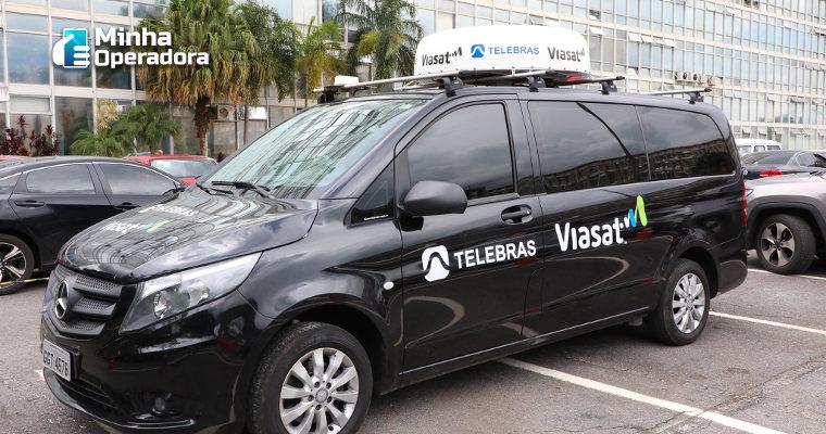 Telebras anuncia antena que permite internet via satélite no carro