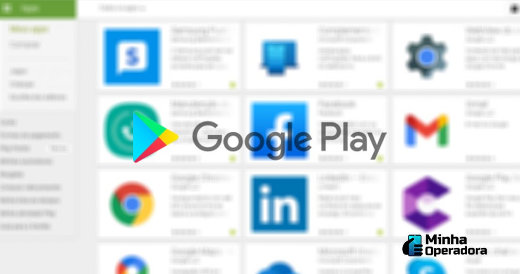 Loja de aplicativos do Google Play