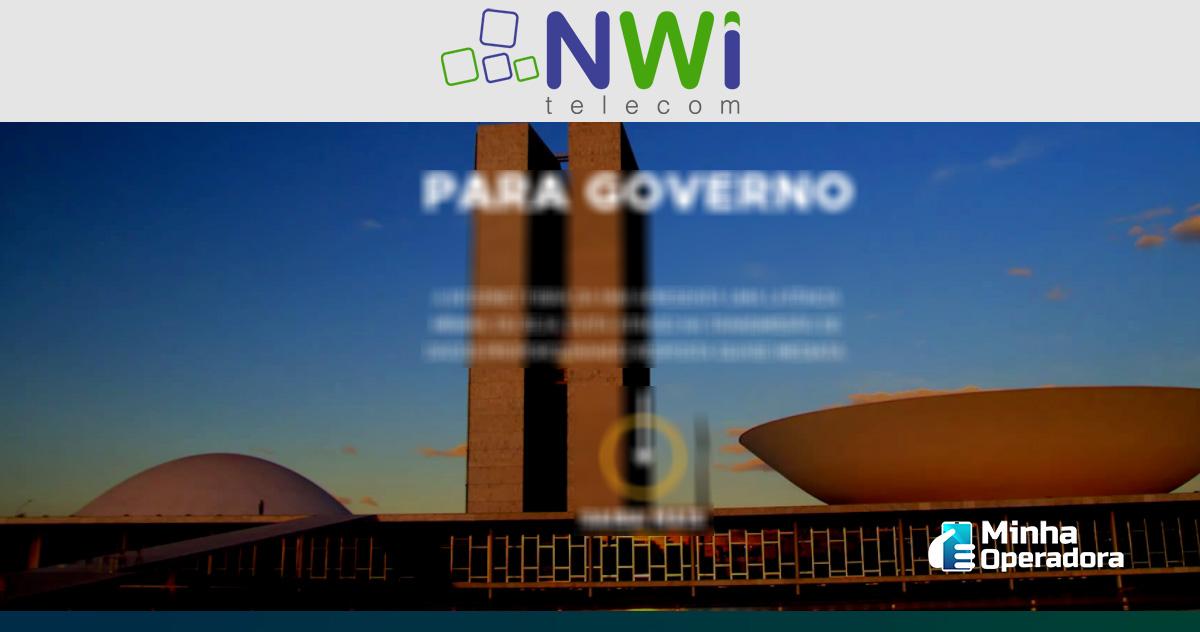 Site da NWi Telecom