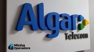 Logotipo da Algar Telecom.
