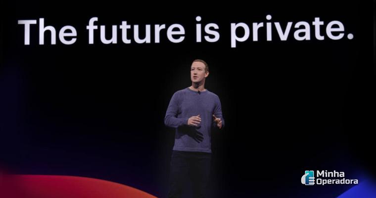 Mark Zuckerberg em divulgação do seu Instagram pessoal