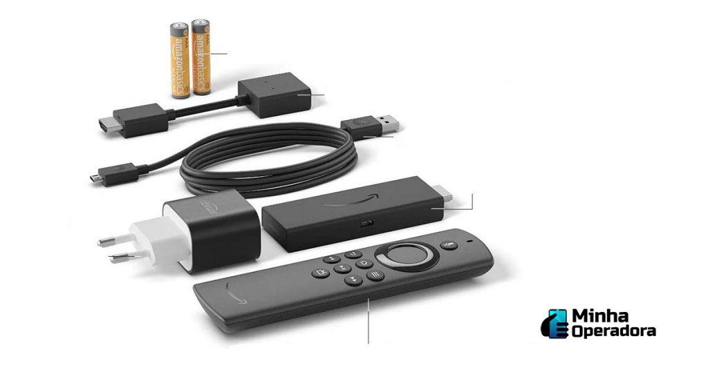 Modelo do Fire Stick TV, da Amazon.