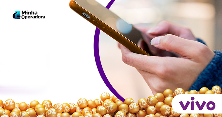 Imagem promocional da parceria entre Vivo e Dotz