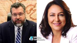 Ernesto Araújo acusa senadora de fazer lobby em relação 5G