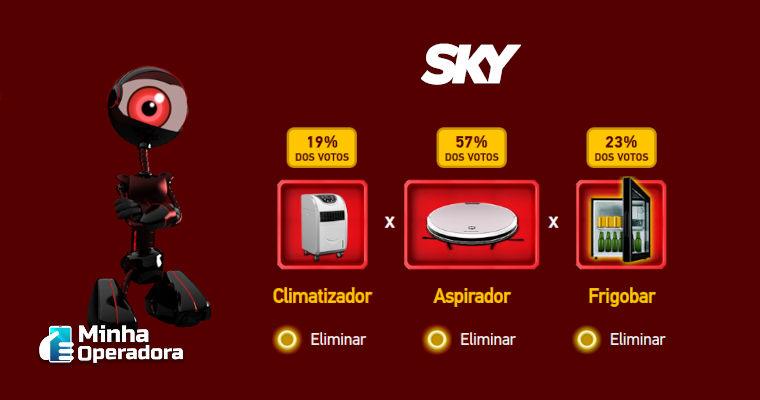 Inspirado no BBB21, SKY lança promoção com 'paredão de prêmios'