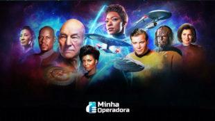 Paramount+ faz evento para celebrar primeiro contato com aliens em 'Star Trek'