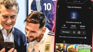 Pela primeira vez, TikTok transmite ao vivo uma partida do futebol brasileiro