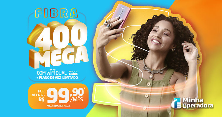 Sercomtel lança plano de banda larga de 400 Mbps por menos de R$ 100