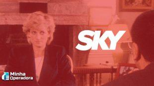 SKY libera para clientes conteúdo exclusivo sobre a Princesa Diana