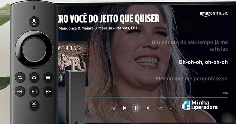 Fire Stick TV. Imagem: Divulgação Amazon