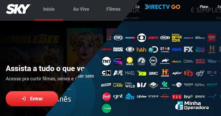 DirecTV e SKY Play garantem conteúdo com exclusividade