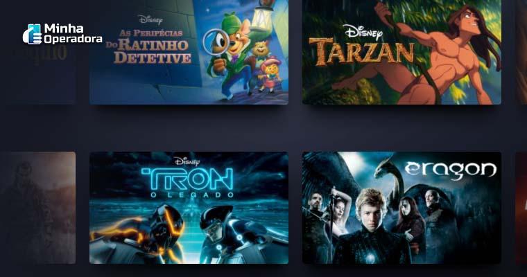 Imagem Ilustrativa: Catálogo do Disney+
