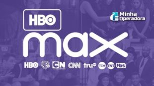 Logotipo do HBO Max.