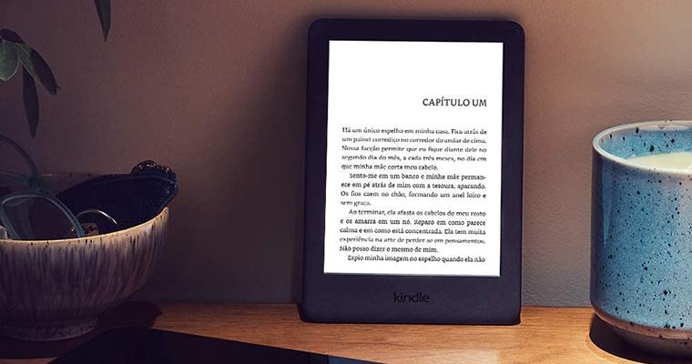 10ª geração do Kindle. Imagem: Divulgação Amazon