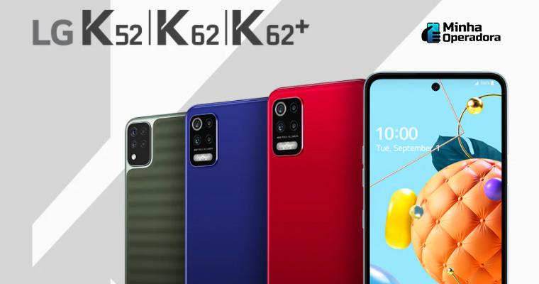 Smartphones da LG