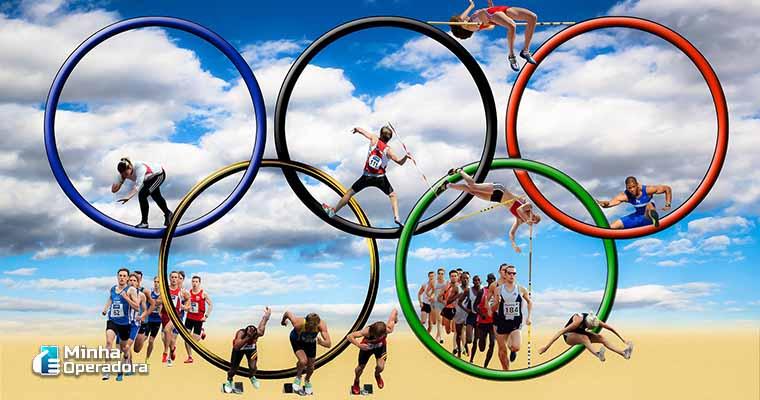 Ilustração da Olimpíada