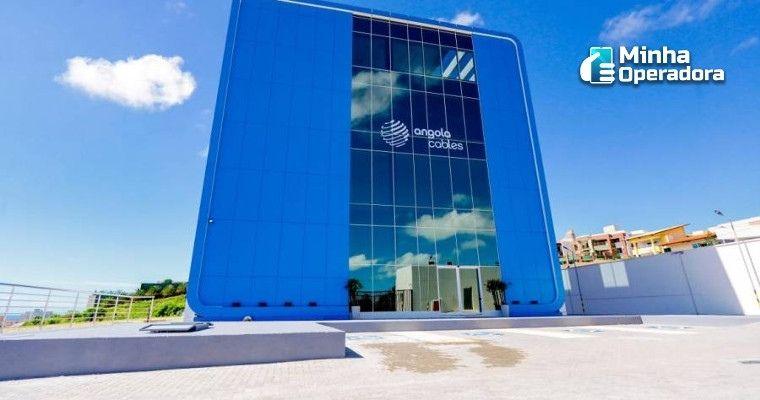 Prédio da Angola Cables em Fortaleza.