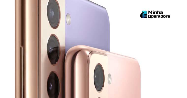 Traseira do Samsung Galaxy S21+