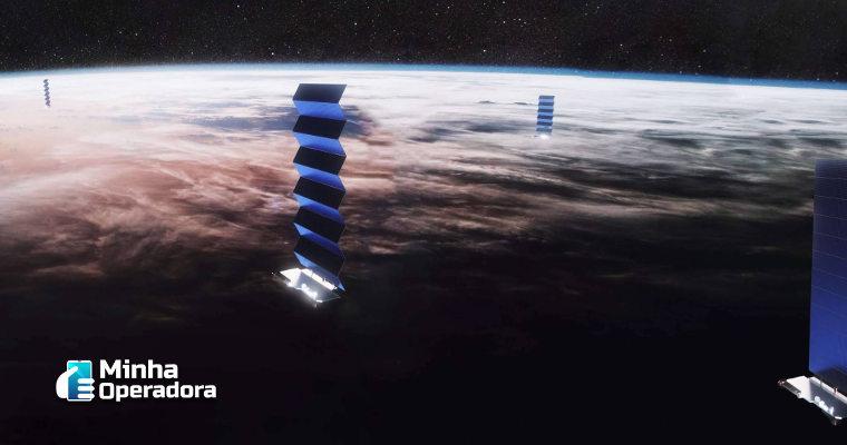 Banda larga da Starlink será móvel em breve, promete Musk