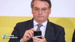 Bolsonaro participará da 1ª ligação de vídeo em 5G puro da América Latina