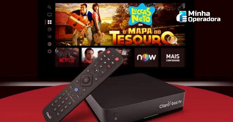 'Claro box tv' disponibiliza acesso a dois novos serviços de streaming