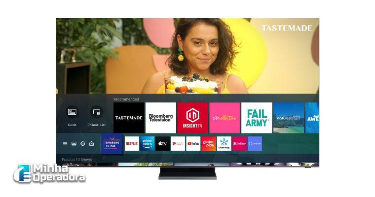 Dois novos canais chegam ao streaming 'Samsung TV Plus'