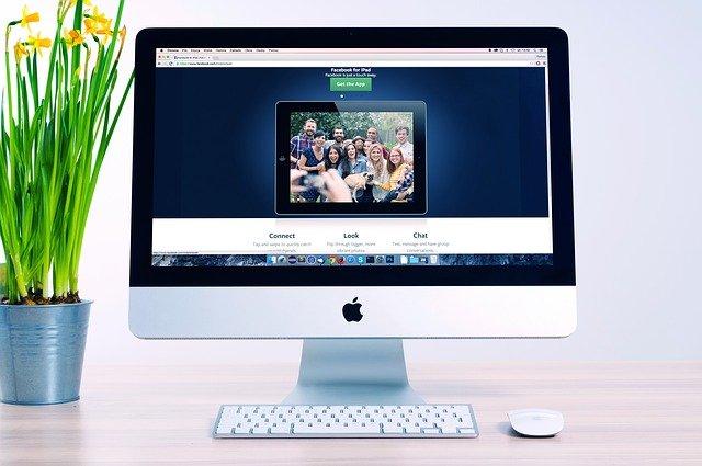 Atual modelo do iMac
