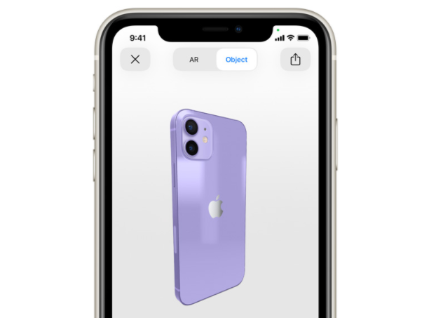 iPhone 12 Roxo