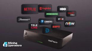 IPTV da Claro acrescenta mais um serviço de streaming ao catálogo