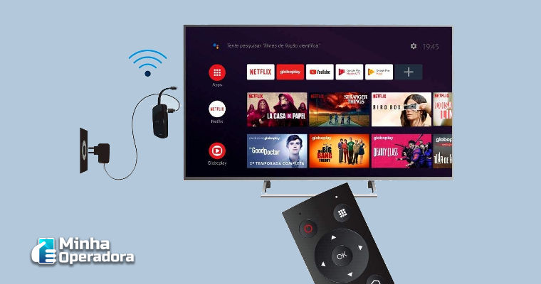Novos controles do Elsys Smarty podem vir com botão da DIRECTV GO