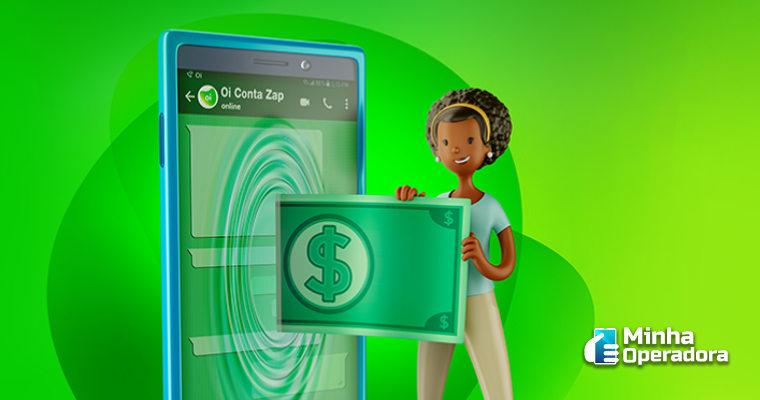 Oi lança carteira digital que é movimentada pelo WhatsApp