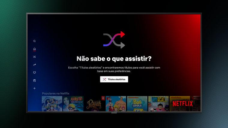 Títulos Aleatórios da Netflix