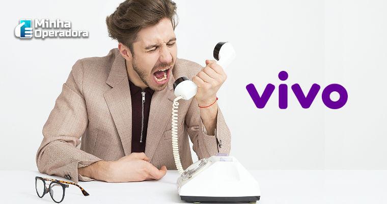 Vivo apresentou 11 falhas de rede no mês de março, segundo o Dowdetector