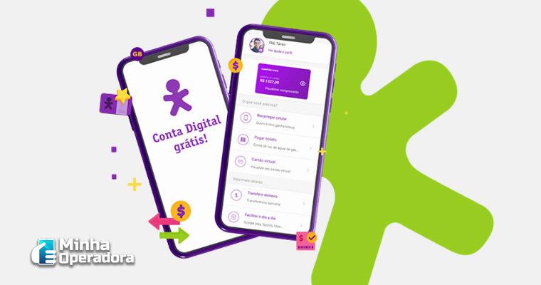 Vivo lança oficialmente conta digital gratuita