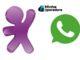 Avatar da Vivo e logomarca WhatsApp