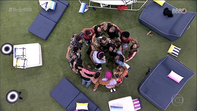 Estreia do BBB21. Imagem: Divulgação Globo