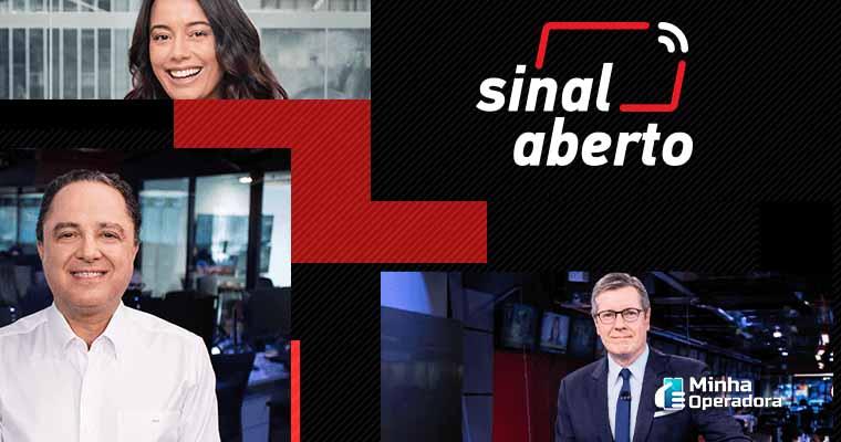 Banner da SKY com atrações da CNN Brasil