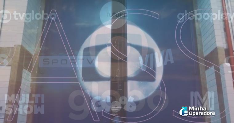 Comercial com a nova identidade da Globo. Imagem: Reprodução Globoplay