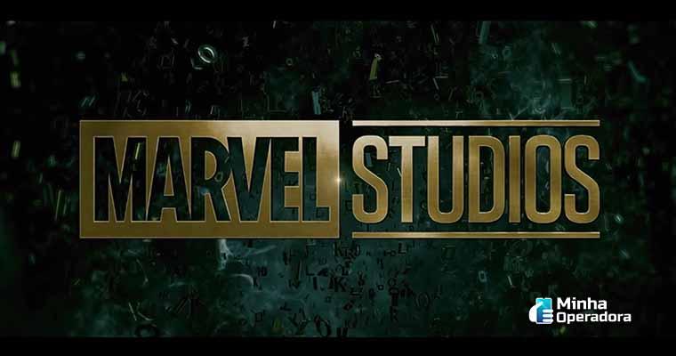 Logotipo da Marvel Studios na série Loki, do Disney+. Imagem: Reprodução YouTube