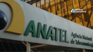 Faixada da Agência Nacional de Telecomunicações (Anatel).