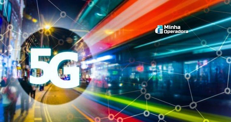 Ilustração do 5G