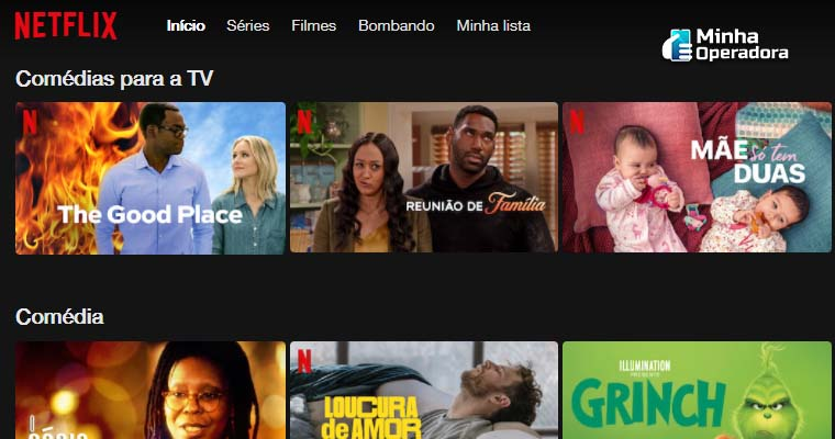 Catálogo da Netflix
