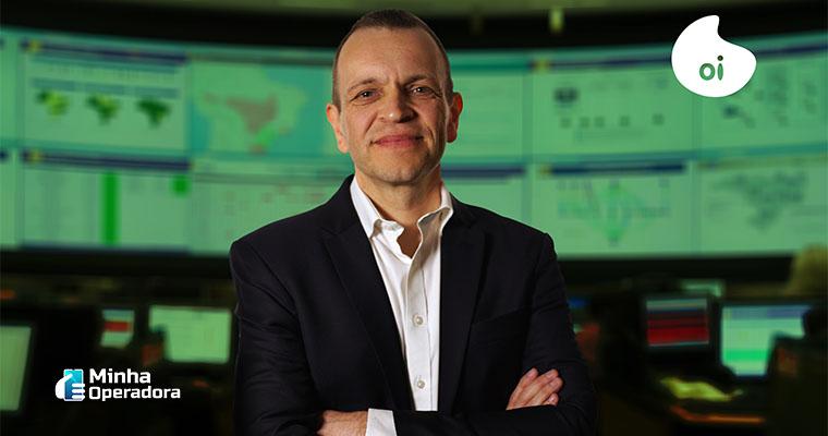 Rodrigo Abreu, CEO da Oi. Imagem enviada pela Assessoria de Imprensa da companhia.