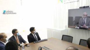 Reunião por telepresença com tecnologia 5G