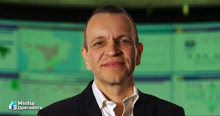 Rodrigo Abreu, CEO da Oi. Imagem enviada pela Assessoria de Imprensa da empresa.