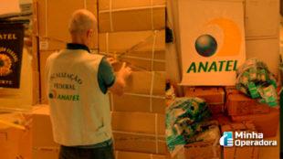 Anatel faz a maior apreensão de produtos piratas da história