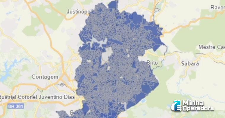 Anatel lança mapa interativo com a cobertura 3G e 4G em todo o país